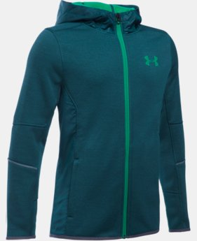 New Arrival  Boys' UA Storm Swacket Full Zip  1 Color $114.99