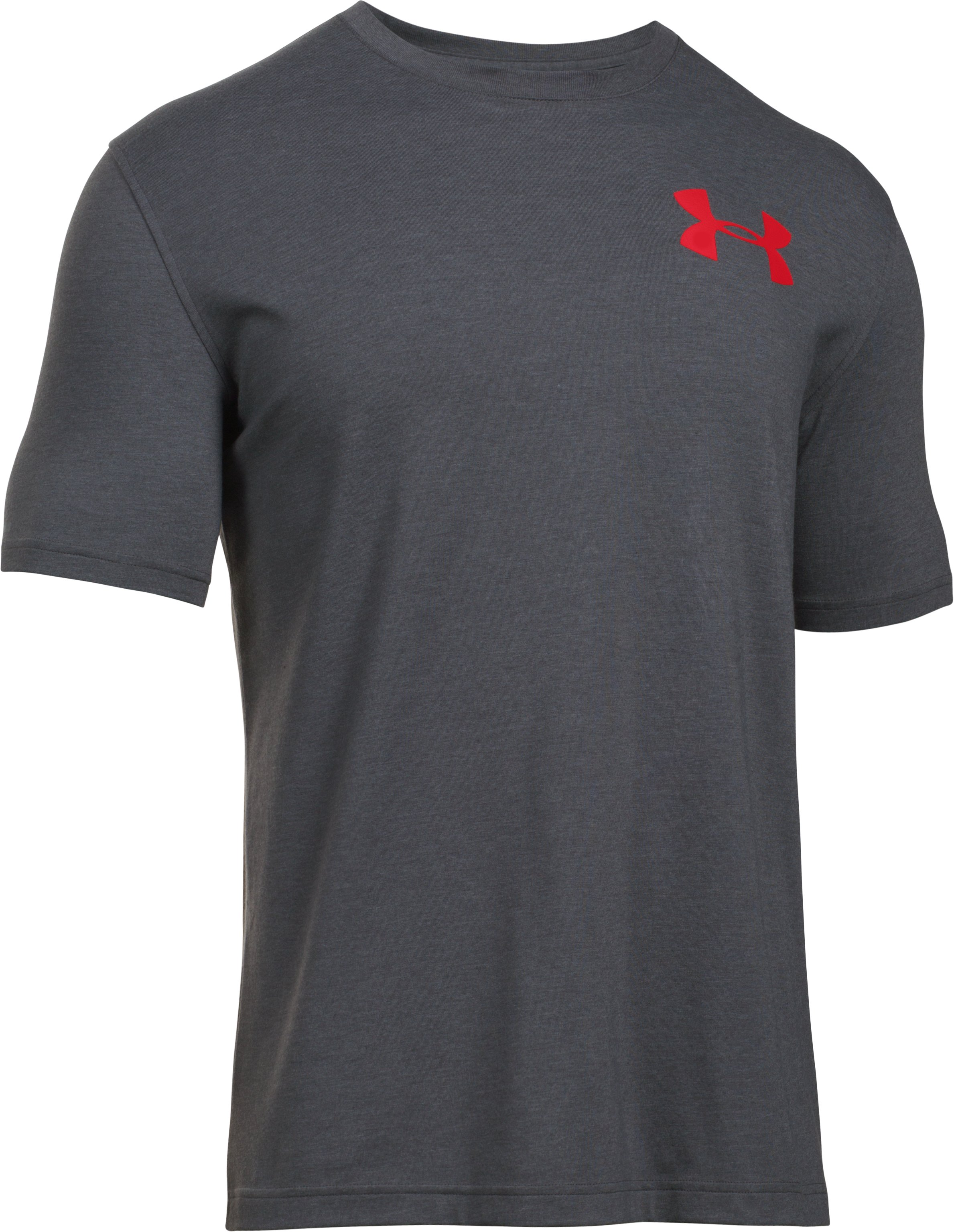 Men's UA Whitetail Skull T-Shirt, Carbon Heather