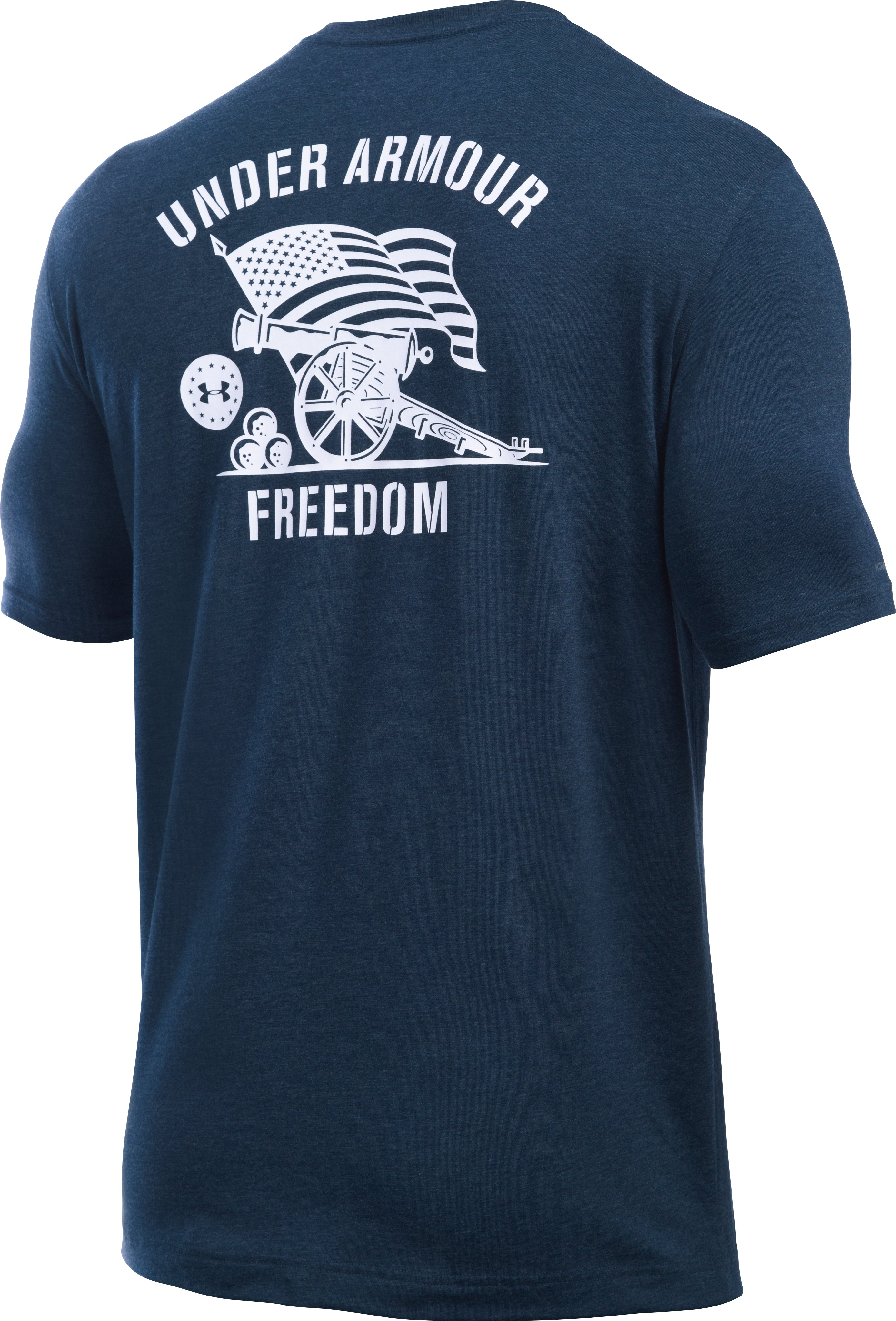 Men's UA Freedom Cannon T-Shirt, Academy, undefined
