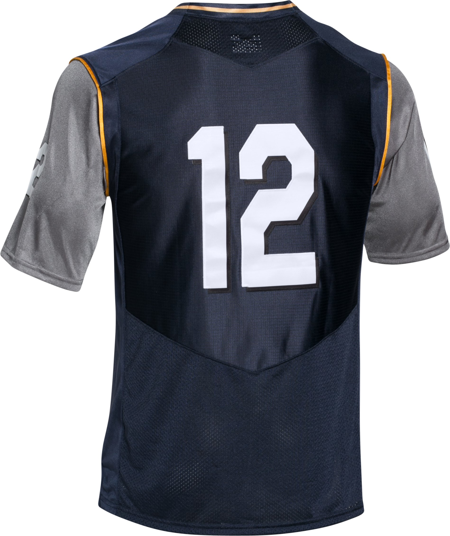 Men's Navy UA Damn The Torpedoes Premier Jersey, Midnight Navy