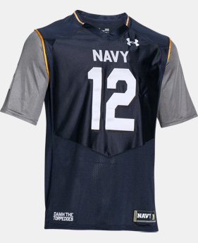 Men's Navy UA Damn The Torpedoes Premier Jersey