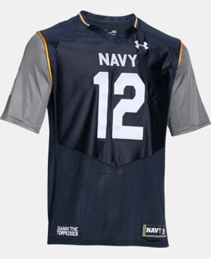 Men's Navy UA Damn The Torpedoes Premier Jersey LIMITED TIME: FREE U.S. SHIPPING 1 Color $74.99