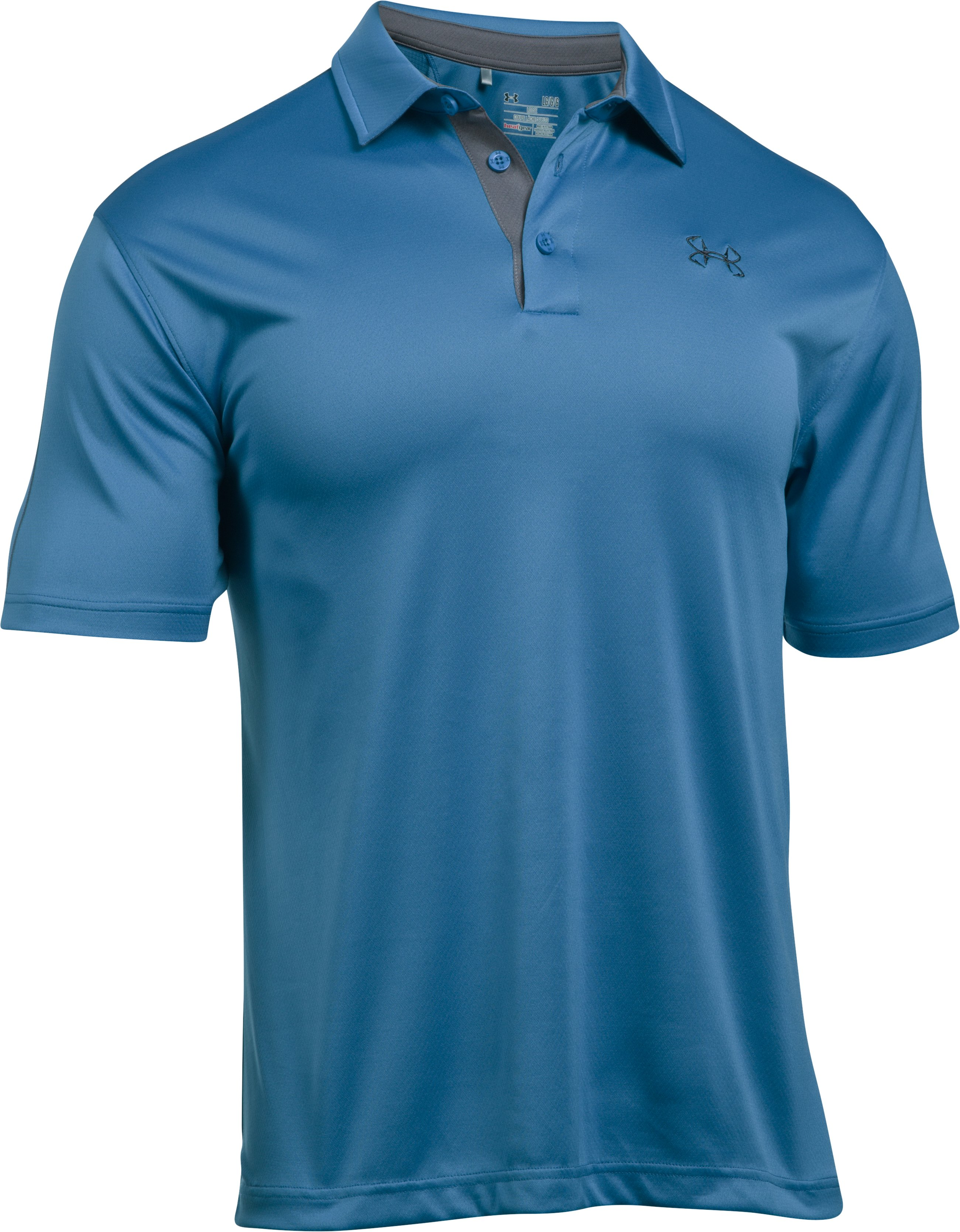 Men's UA Fish Polo, URBAN BLUE,