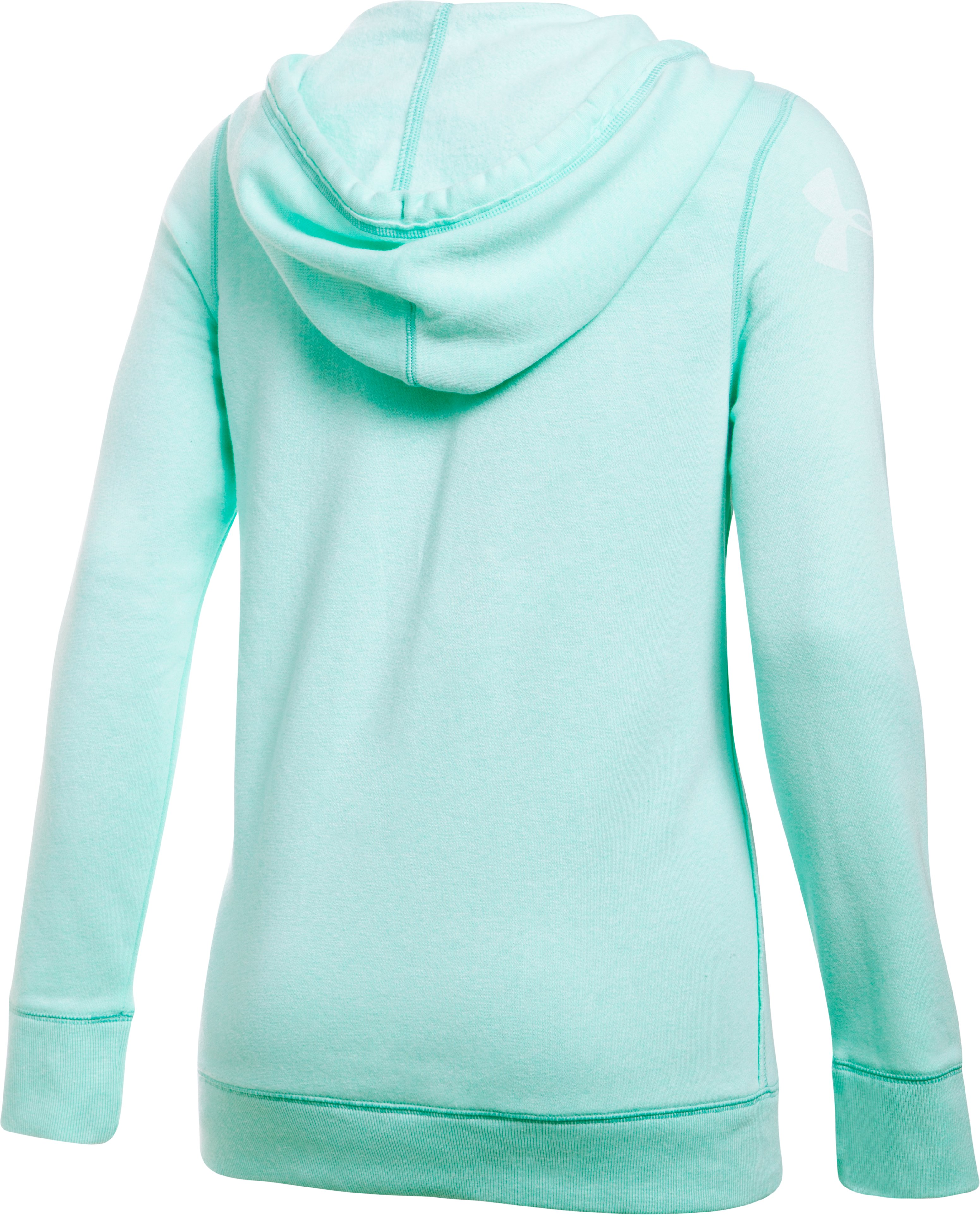 Women's UA Favorite Fleece Word Mark Popover, CRYSTAL