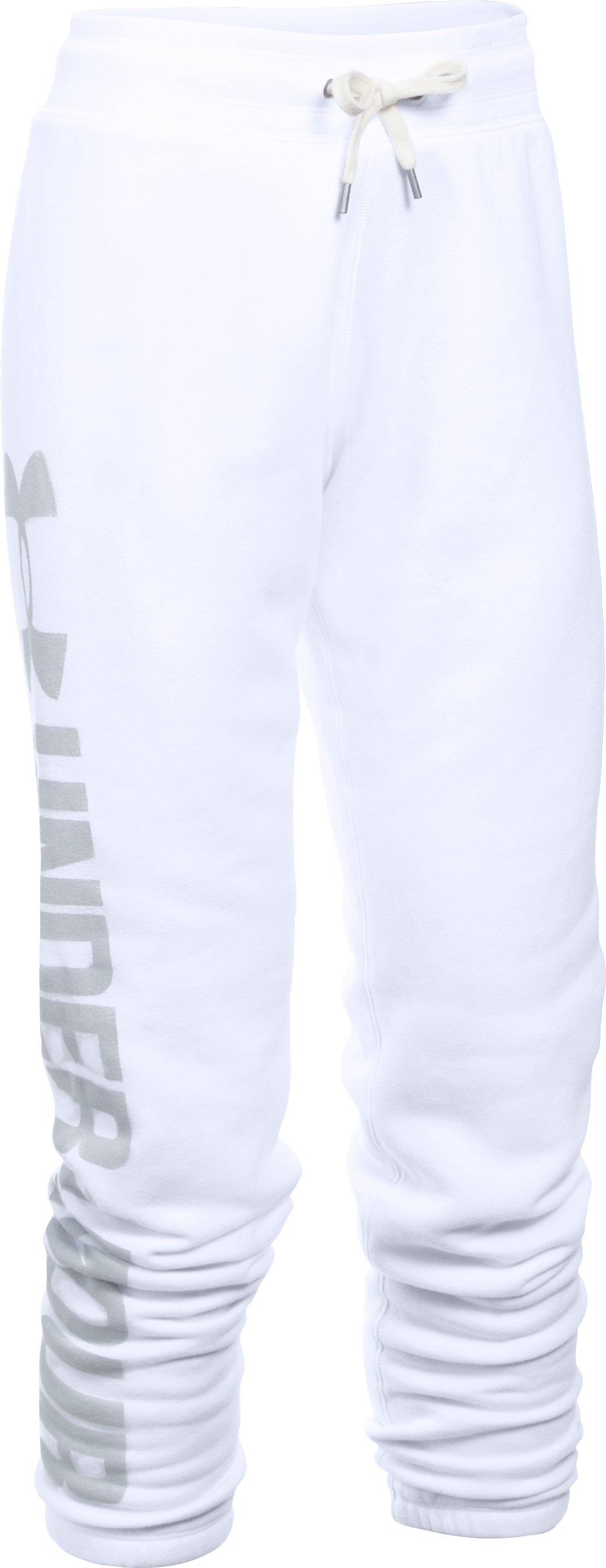 Women's UA Favorite Fleece Pant, White