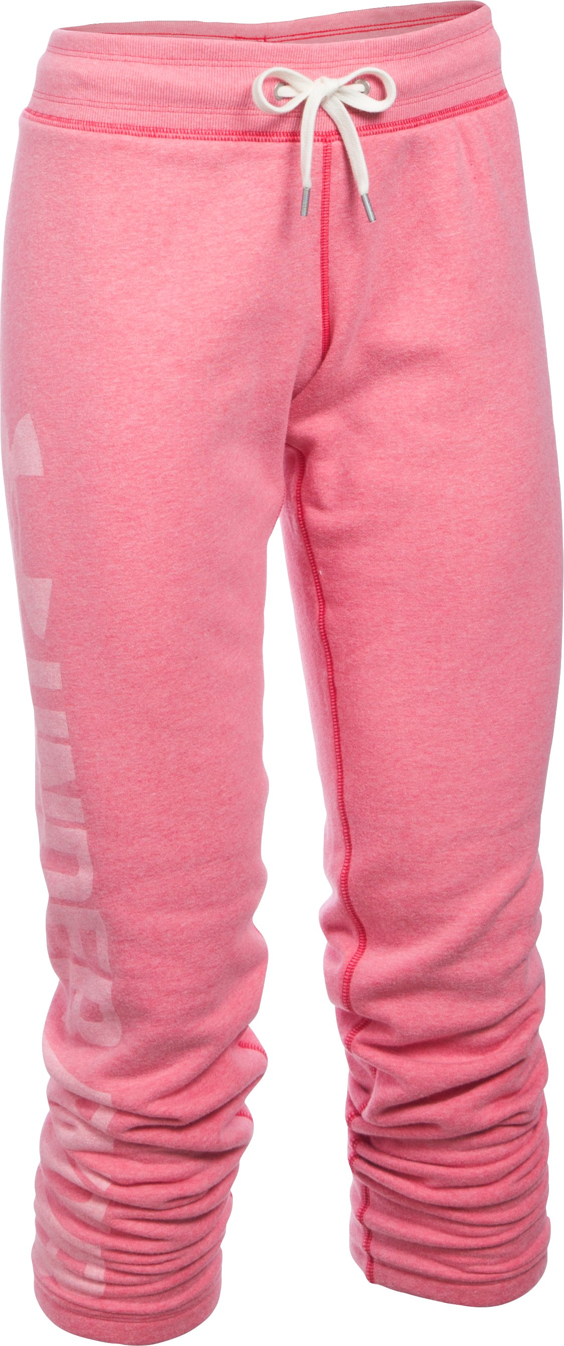 Women's UA Favorite Fleece Pants, KNOCK OUT,