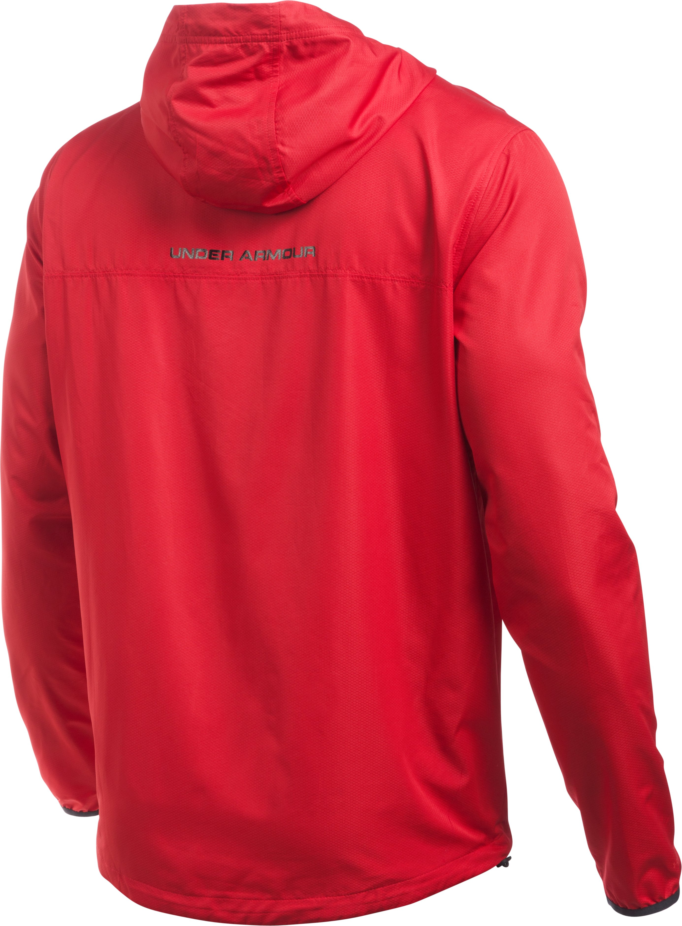 Men's UA Sportstyle Anorak, Red, undefined