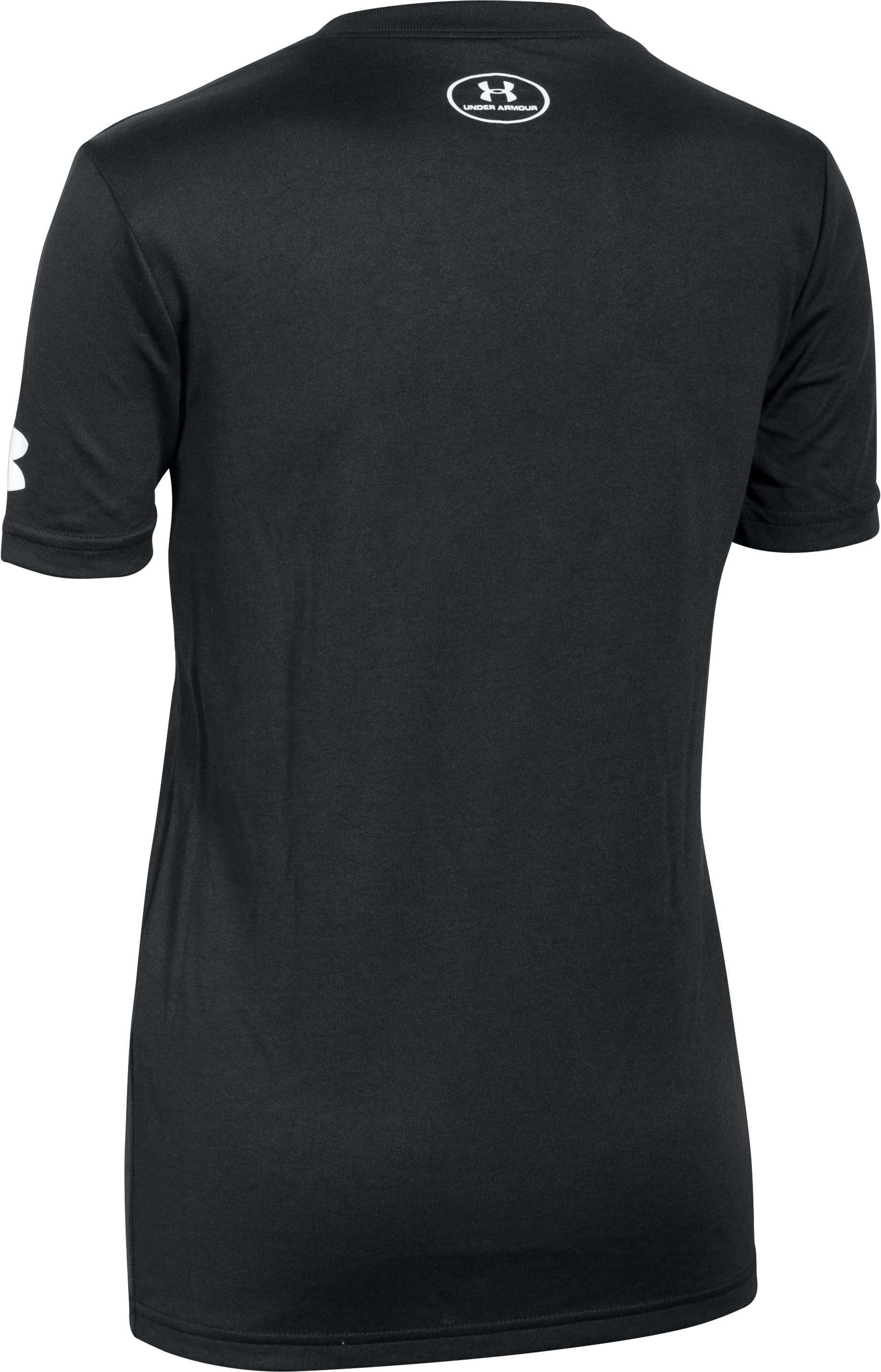Boys' SC30 Branded T-Shirt, Black , undefined