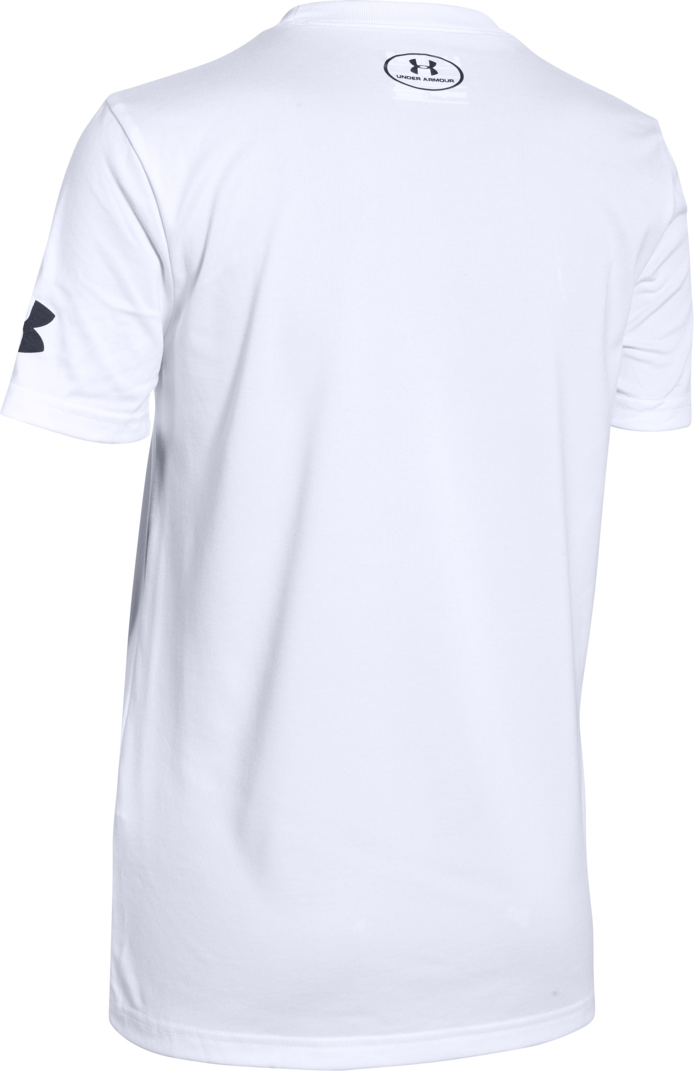 Boys' SC30 Branded T-Shirt, White