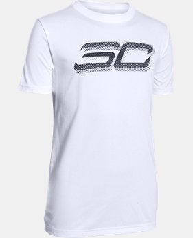 Boys' SC30 Branded T-Shirt  2 Colors $29.99