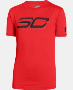 Boys' SC30 Branded T-Shirt  1 Color $29.99