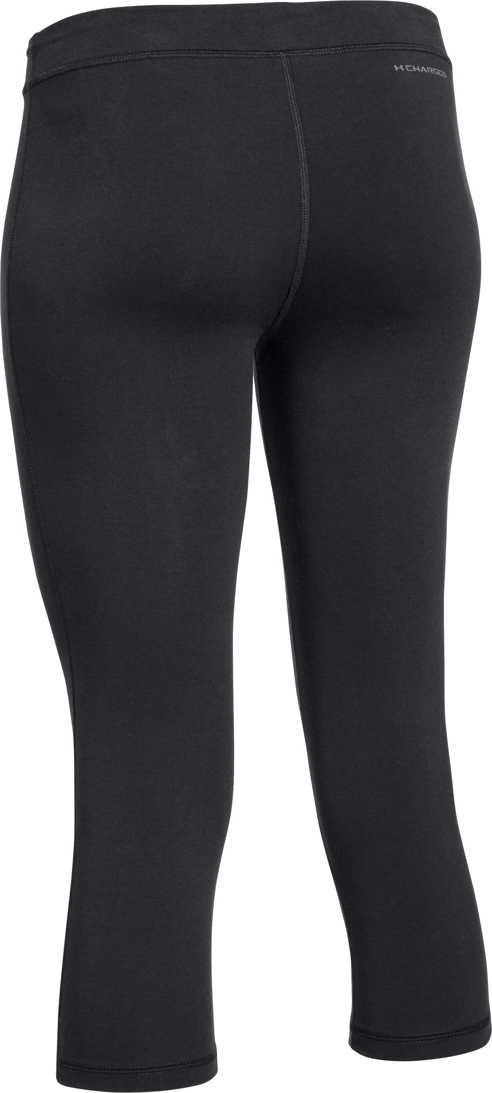 Women's UA Favorite Capris, Black , undefined