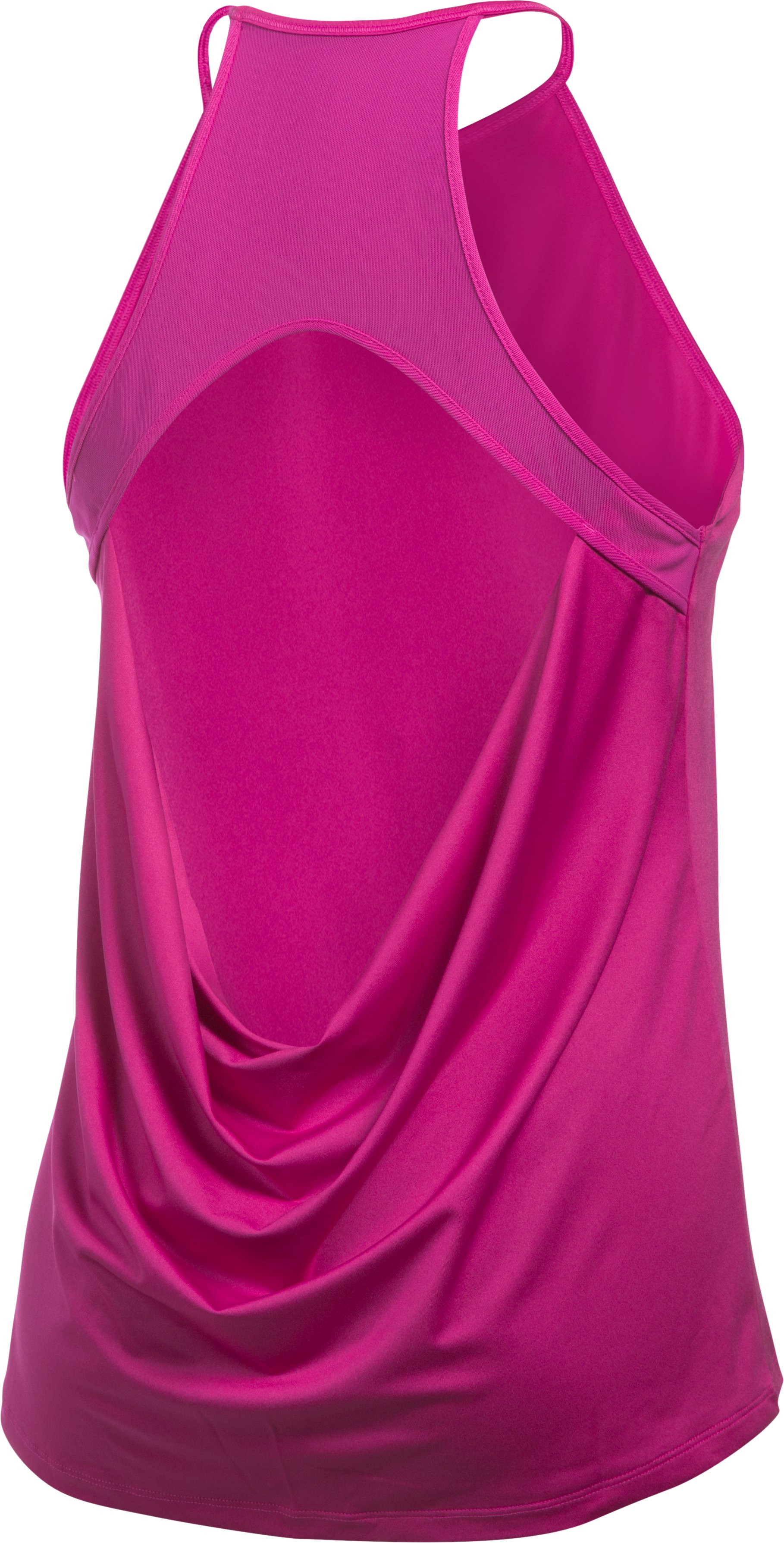 Women's UA Wishbone Tank, MAGENTA SHOCK,