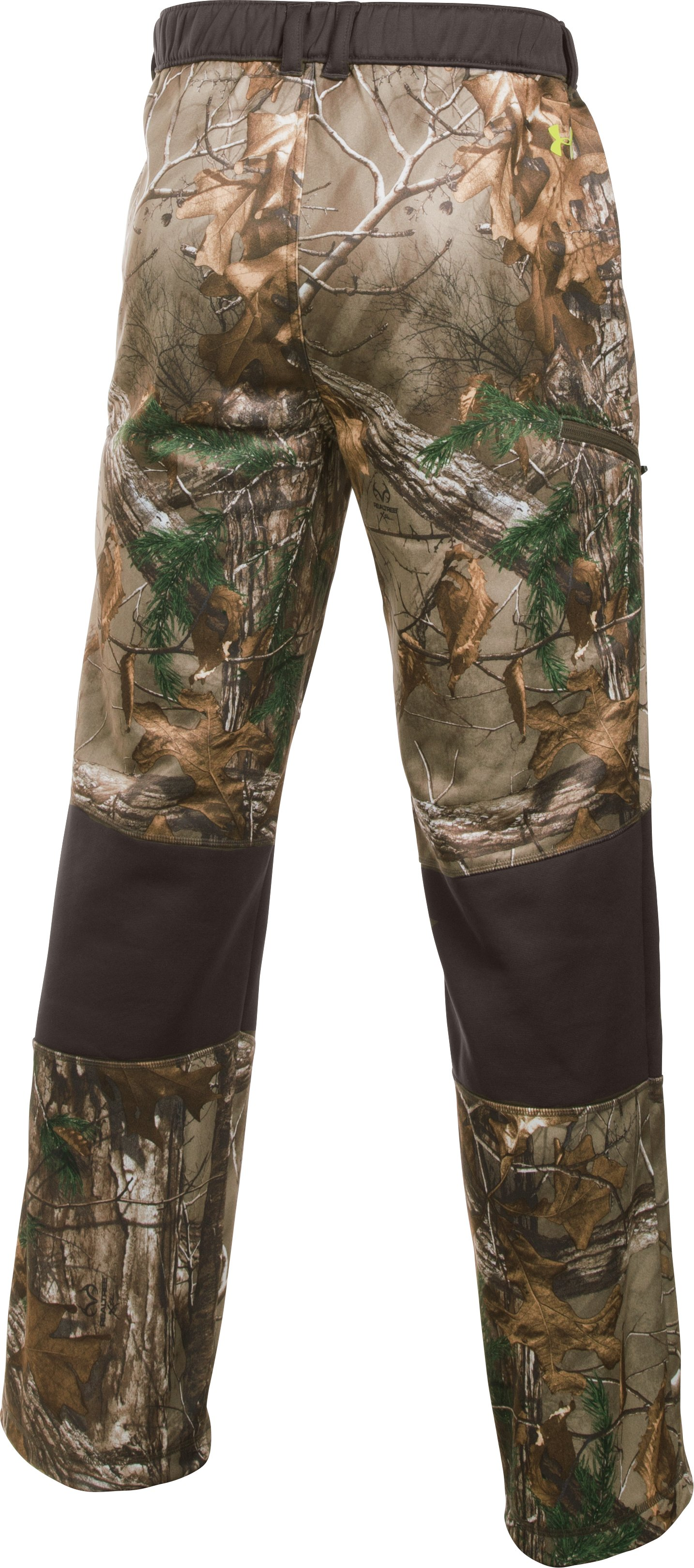 Men's UA Scent Control Fleece Pants, REALTREE AP-XTRA, undefined