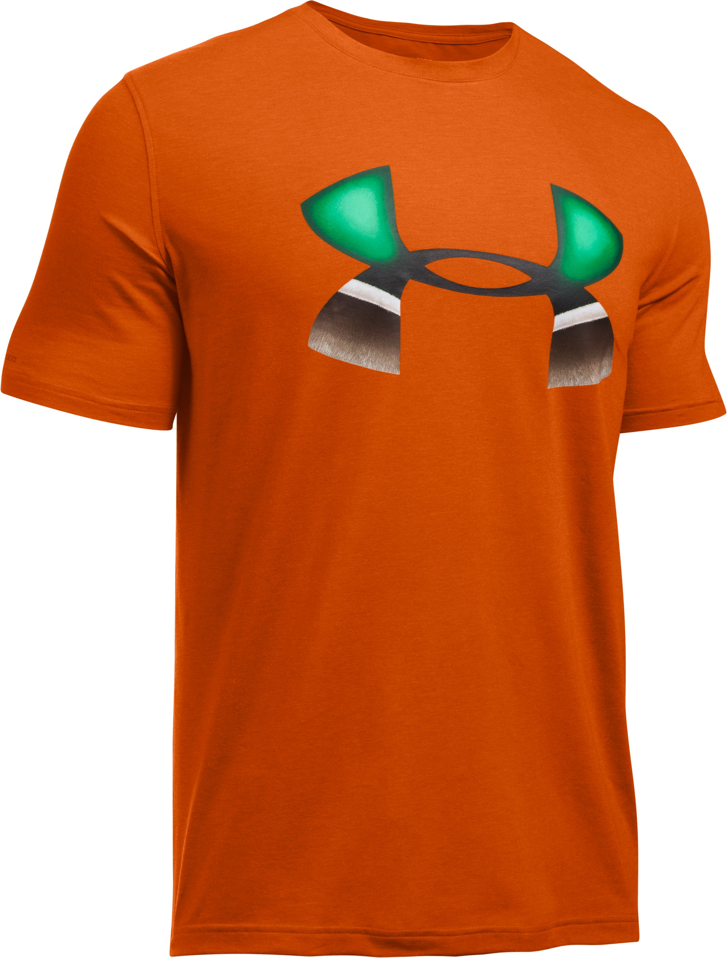 Men's UA Mallard Logo T-Shirt, RODEO ORANGE