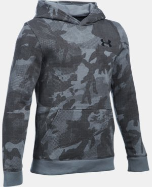 Boys' UA Sportstyle Fleece Printed Hoodie LIMITED TIME: FREE SHIPPING 3 Colors $49.99