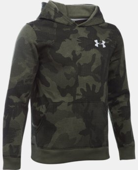 Boys' UA Sportstyle Fleece Printed Hoodie LIMITED TIME: FREE U.S. SHIPPING 1 Color $44.99