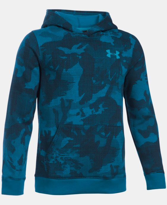 Boys' UA Sportstyle Fleece Printed Hoodie  3 Colors $49.99