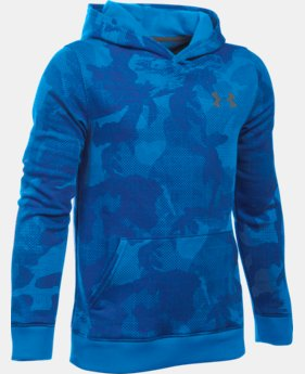 New Arrival  Boys' UA Sportstyle Fleece Printed Hoodie  2 Colors $49.99