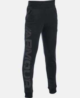 Boys' UA Sportstyle Fleece Jogger LIMITED TIME: FREE SHIPPING  $49.99