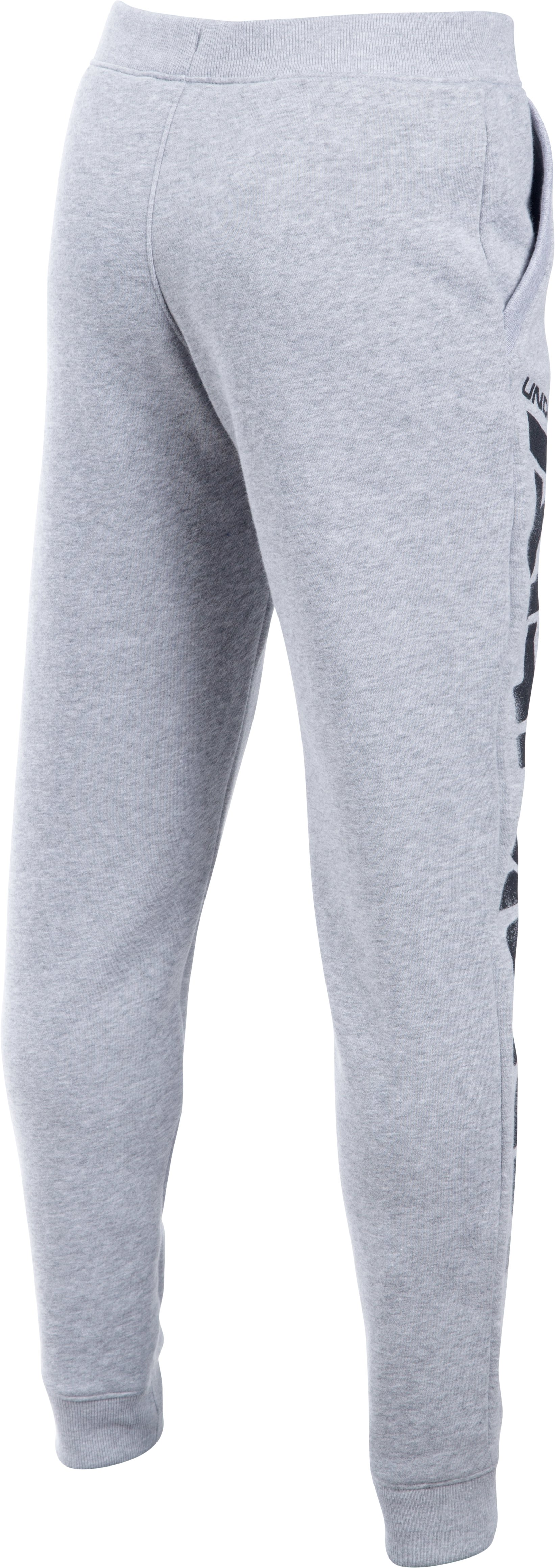 Boys' UA Sportstyle Fleece Jogger, True Gray Heather,