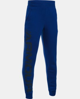Boys' UA Titan Fleece Jogger LIMITED TIME OFFER + FREE U.S. SHIPPING 1 Color $26.99