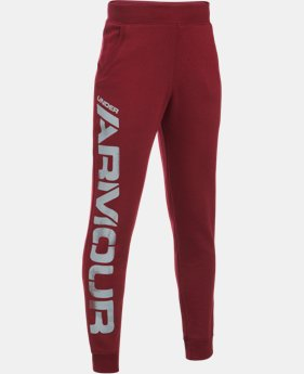 New Arrival  Boys' UA Titan Fleece Jogger  1 Color $49.99