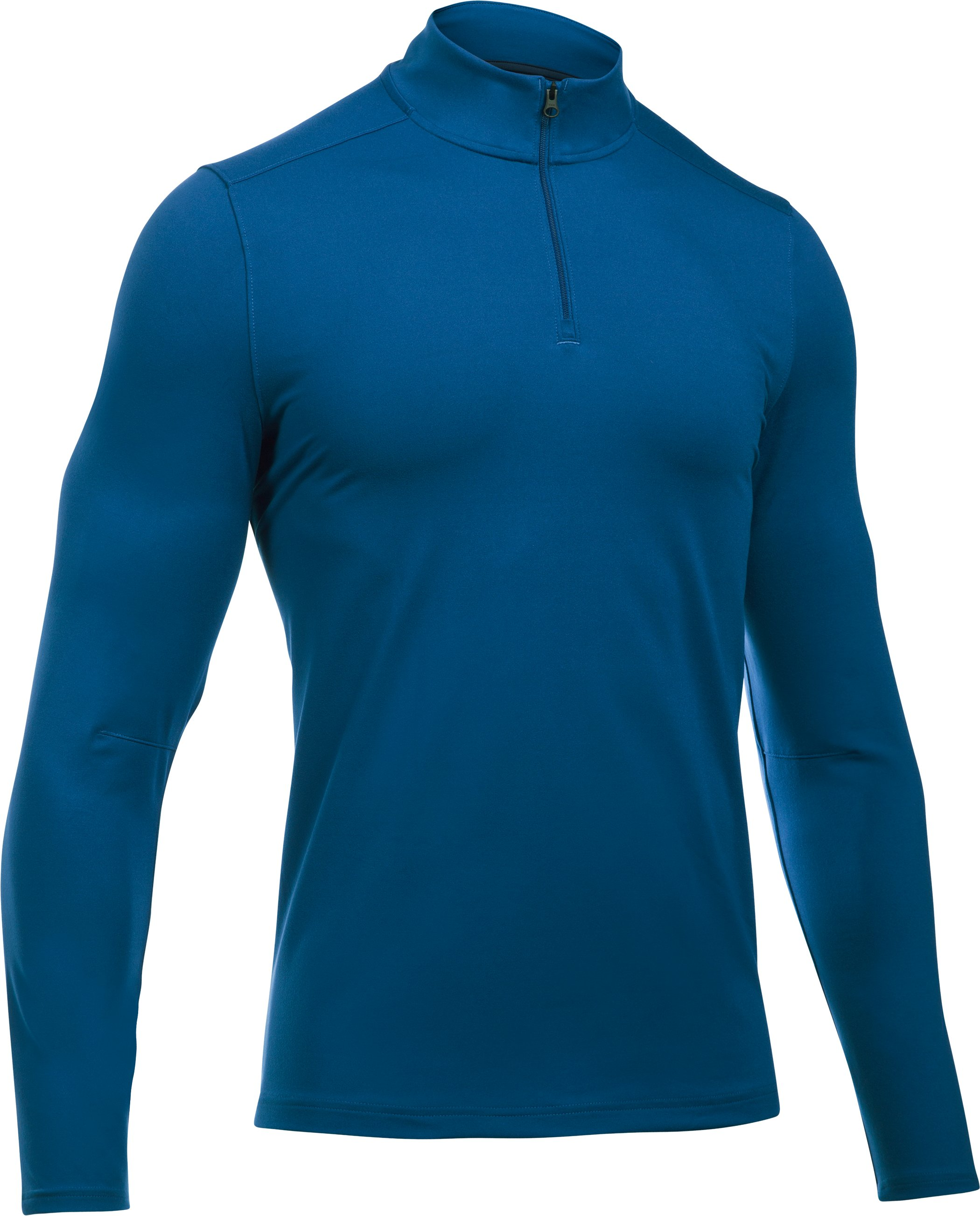 Men's UA Power ¼ Zip, HERON