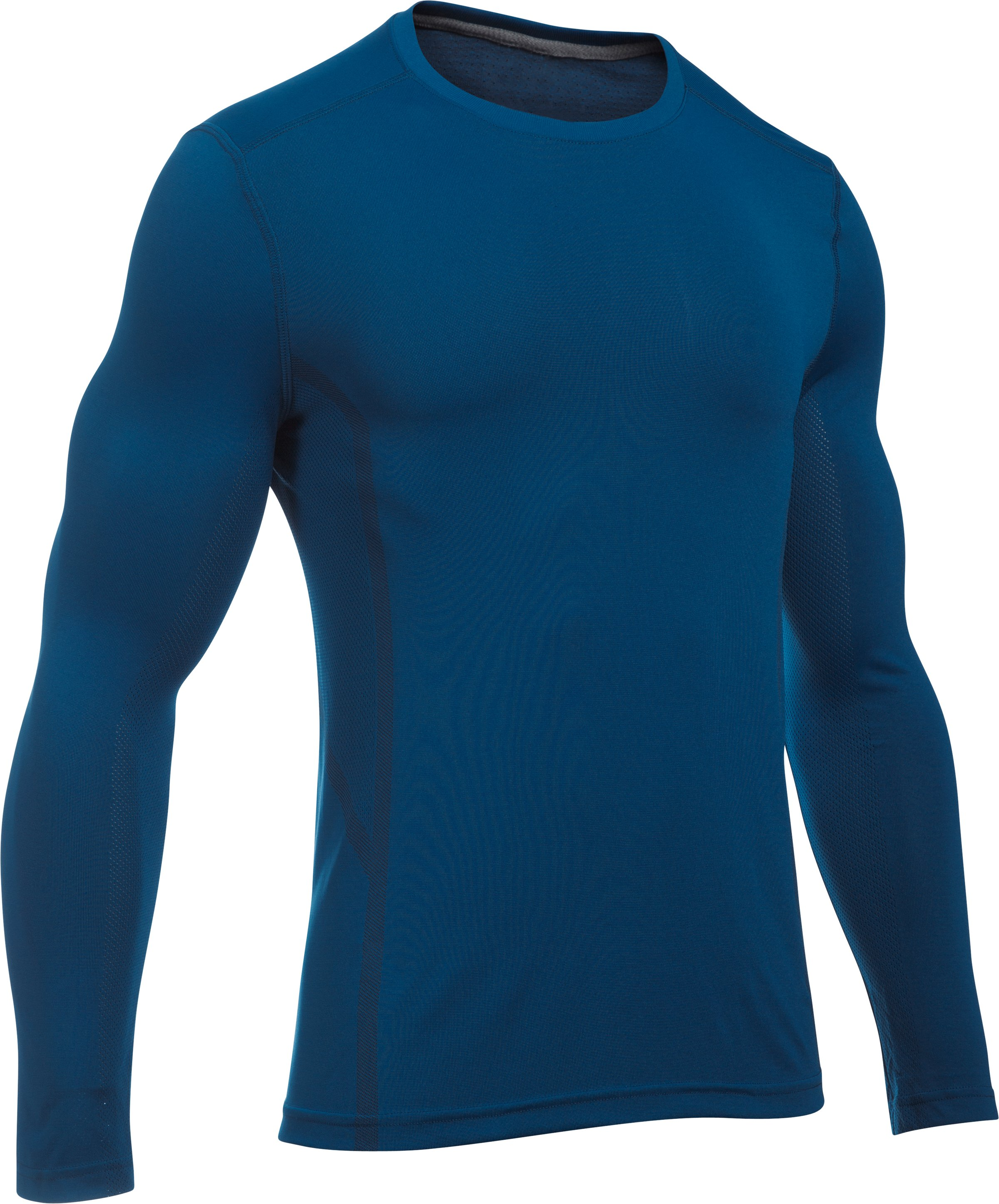 Men's UA Elevated Training Long Sleeve, HERON, undefined