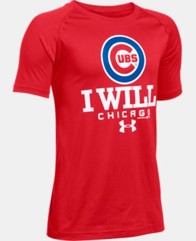 Boys' Chicago Cubs I Will UA Tech™ T-Shirt LIMITED TIME: FREE SHIPPING 1 Color $22.99