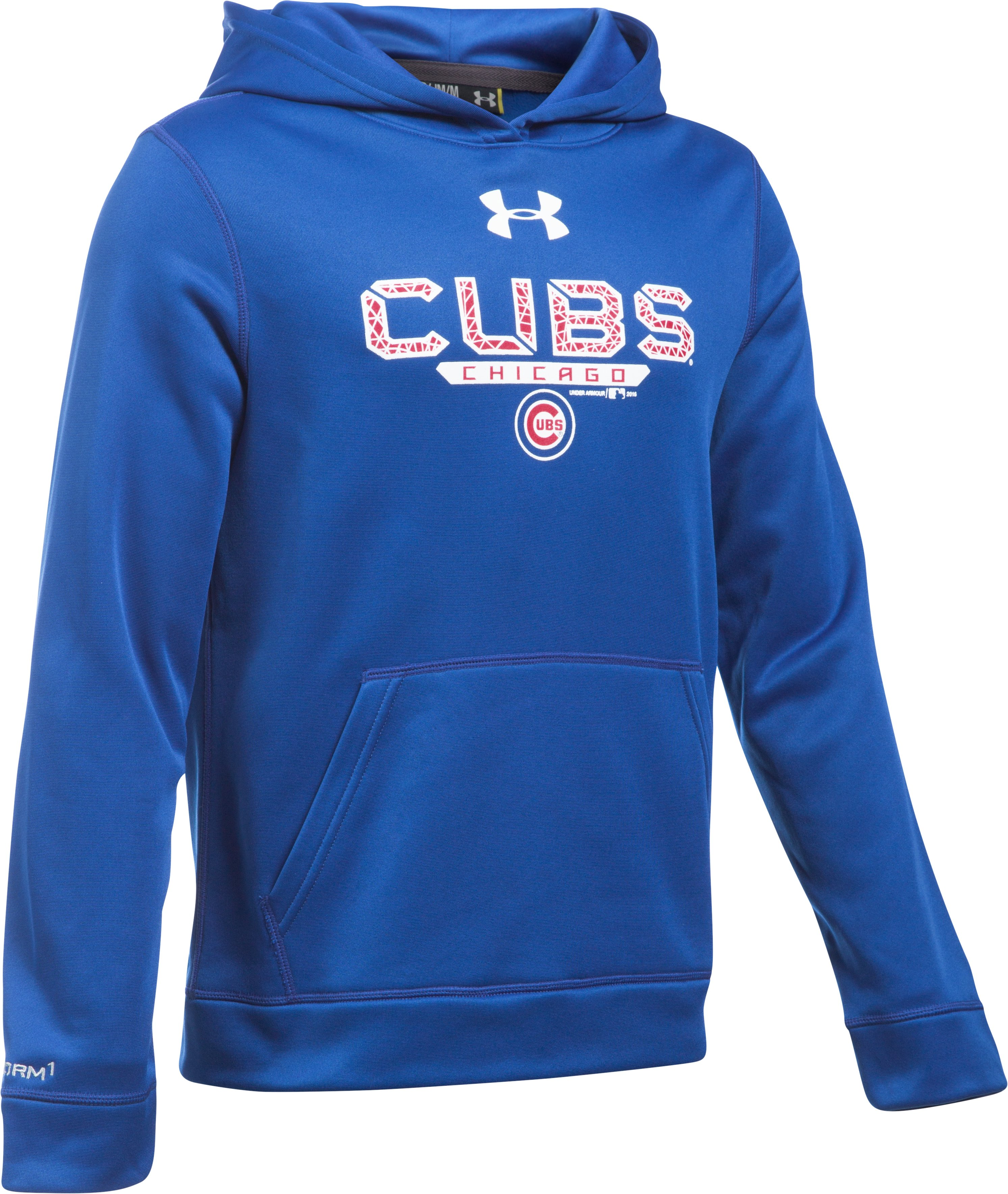 Boys' Chicago Cubs UA Storm Armour Fleece® Hoodie, Royal