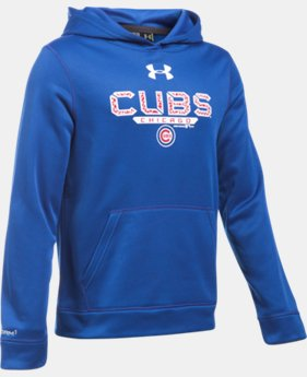 Boys' Chicago Cubs UA Storm Armour® Fleece Hoodie LIMITED TIME: FREE SHIPPING 1 Color $48.99