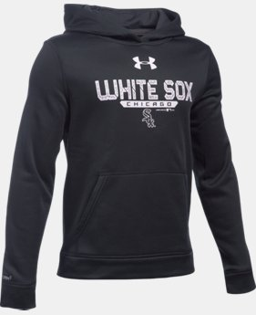 Boys' Chicago White Sox UA Storm Armour® Fleece Hoodie  1 Color $31.49