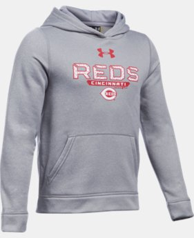 Boys' Cincinnati Reds UA Storm Armour® Fleece Hoodie  1 Color $41.99
