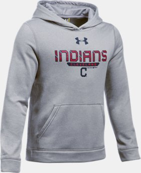 Boys' Cleveland Indians UA Storm Armour® Fleece Hoodie  1 Color $41.99