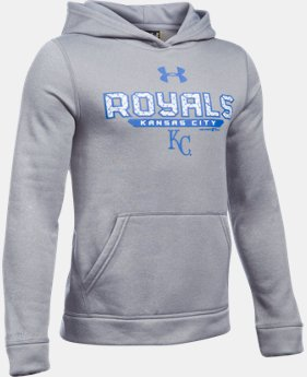 Boys' Kansas City Royals UA Storm Armour® Fleece Hoodie