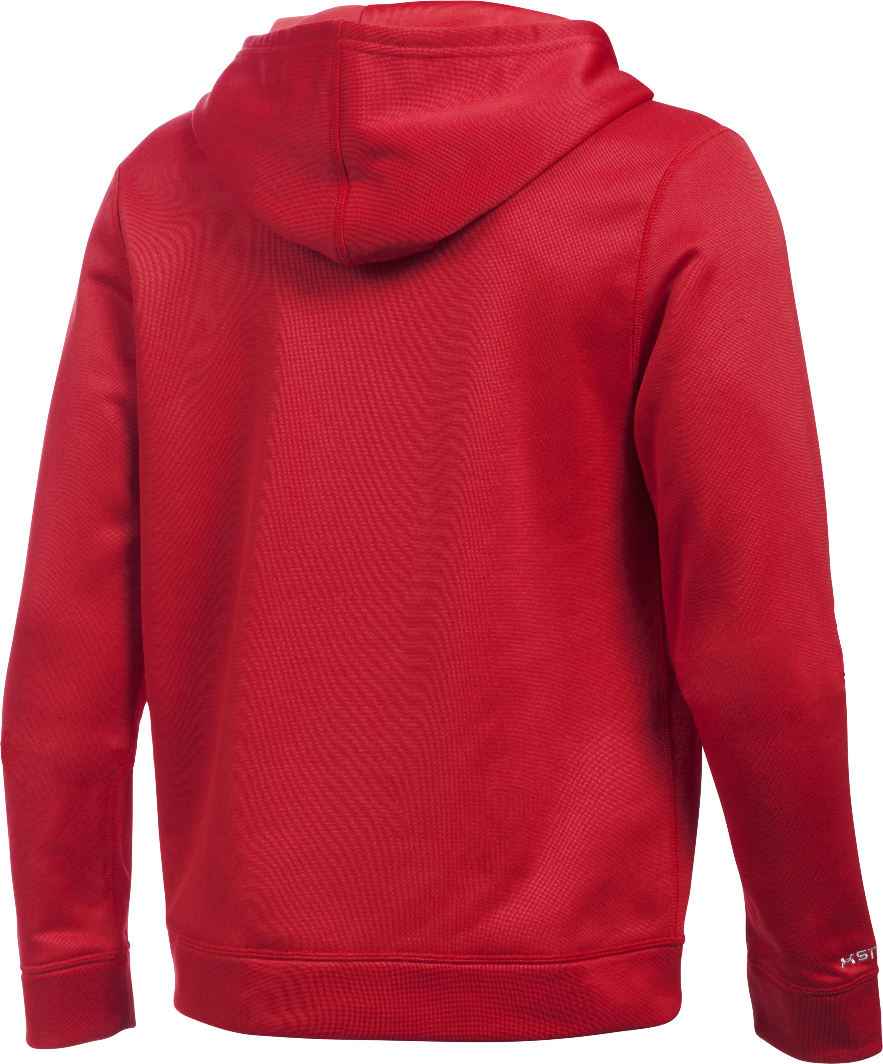 Boys' Los Angeles Angels UA Storm Armour® Fleece Hoodie, Red