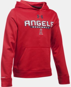 Boys' Los Angeles Angels UA Storm Armour® Fleece Hoodie  1 Color $31.49
