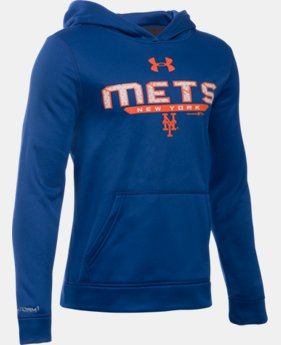 Boys' New York Mets UA Storm Armour® Fleece Hoodie   $41.99