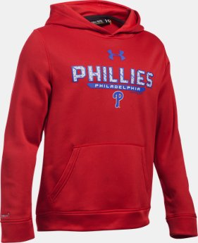 Boys' Philadelphia Phillies UA Storm Armour® Fleece Hoodie LIMITED TIME: FREE U.S. SHIPPING  $41.99