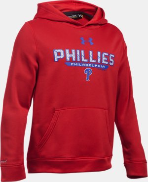 Boys' Philadelphia Phillies UA Storm Armour® Fleece Hoodie LIMITED TIME: FREE U.S. SHIPPING 1 Color $41.99
