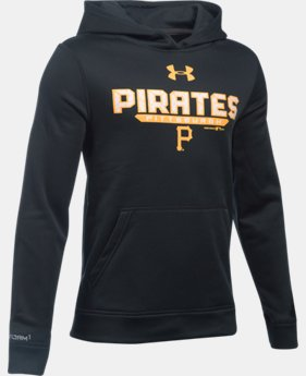 Boys' Pittsburgh Pirates UA Storm Armour® Fleece Hoodie   $41.99