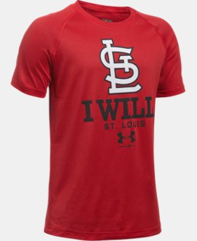 Boys' St. Louis Cardinals I Will UA Tech™ T-Shirt