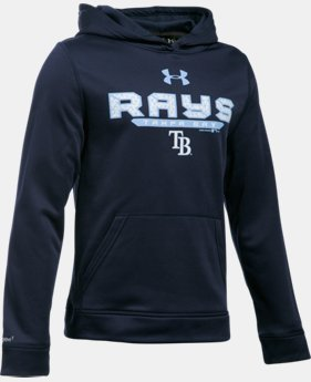 Boys' Tampa Bay Rays UA Storm Armour® Fleece Hoodie  1 Color $41.99
