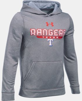 Boys' Texas Rangers UA Storm Armour® Fleece Hoodie   $41.99