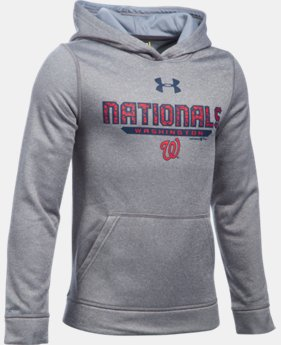 Boys' Washington Nationals UA Storm Armour® Fleece Hoodie