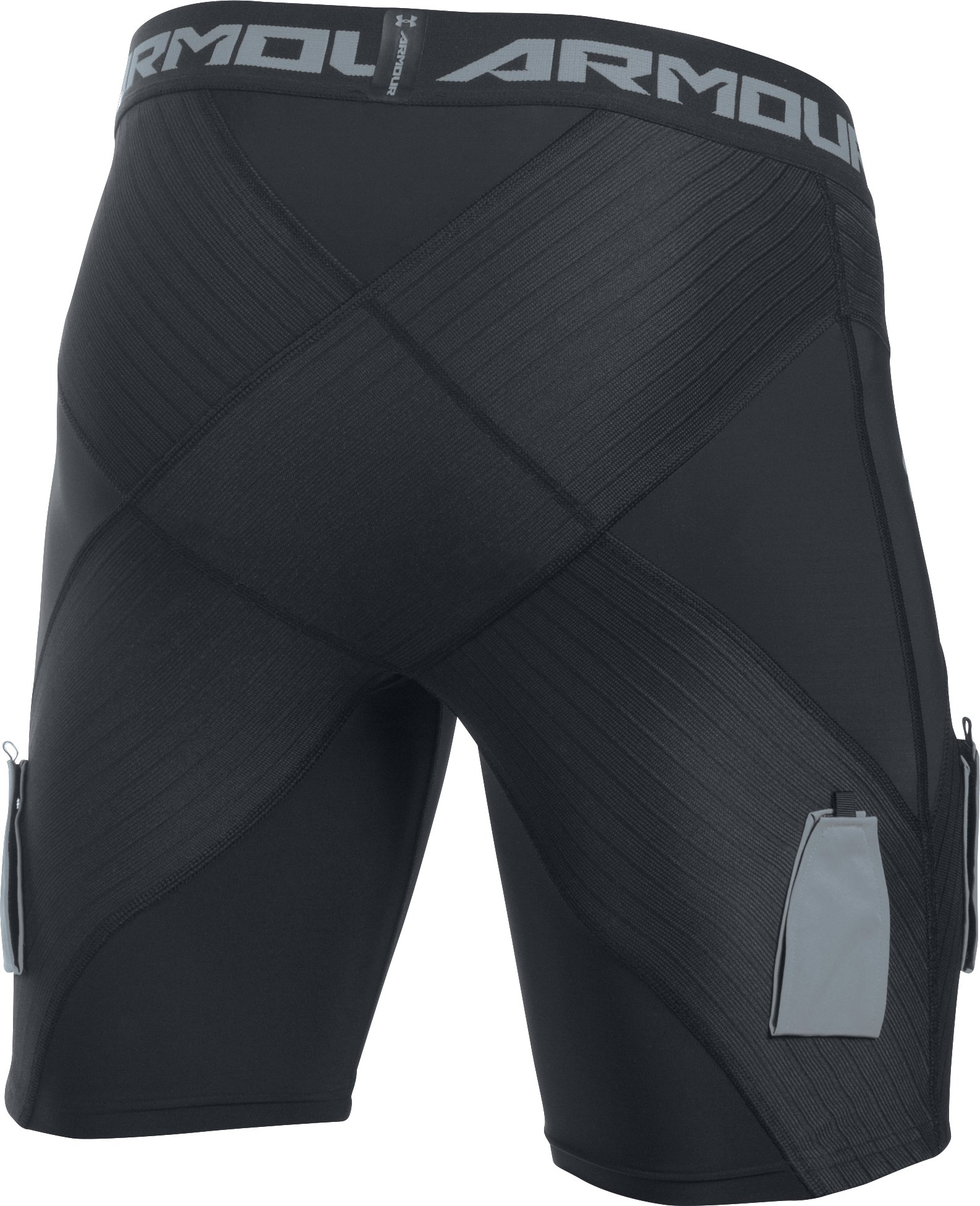 Men's UA Hockey Coreshort Pro w/ Cup, Black ,