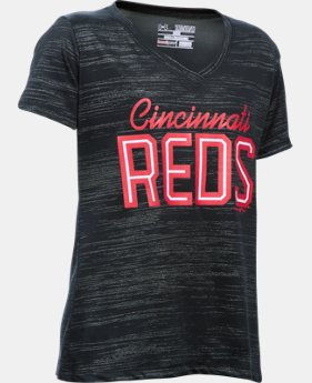 Girls' Cincinnati Reds UA Tech™ T-Shirt  1 Color $18.99