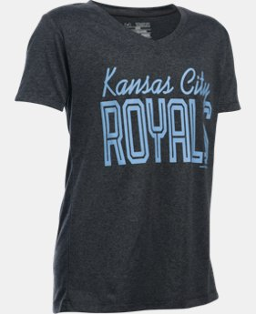 Girls' Kansas City Royals UA Tech™ T-Shirt   $18.99