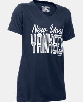 Girls' New York Yankees UA Tech™ T-Shirt   $18.99